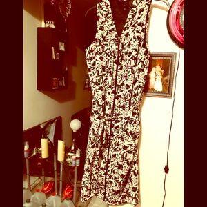 Ellos Belted Midi Dress